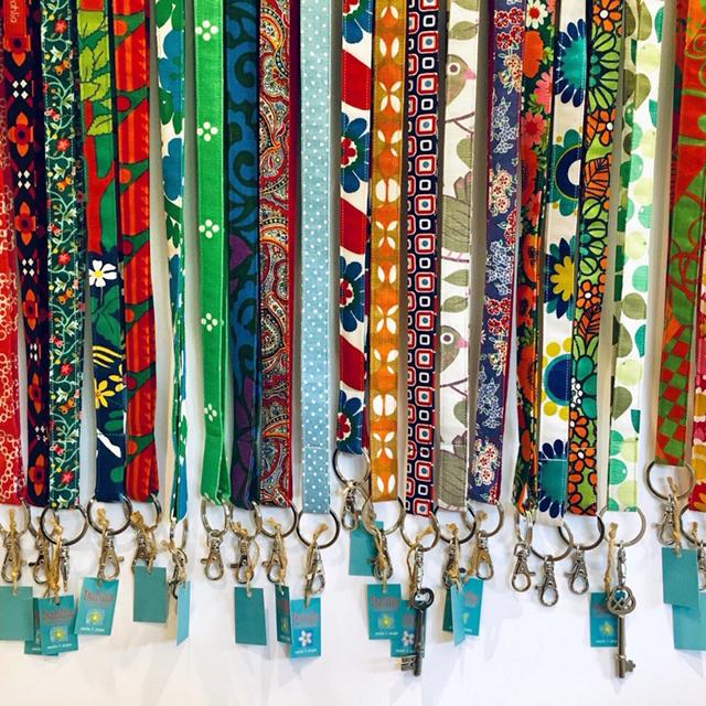 Nyckelband cerise