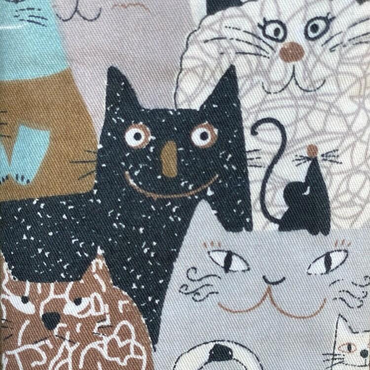 Glasögonfodral katt