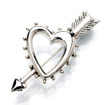 Brosch Hearts