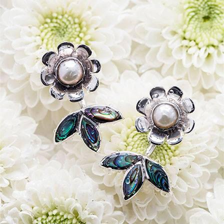Örhänge Blomster