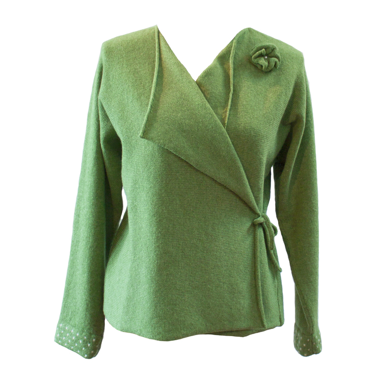 Kofta Kimono grön