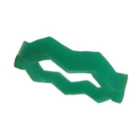 Zigzagring grön