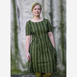 Klänning Fiskben - grön