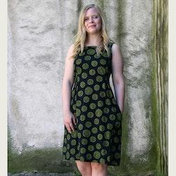 Klänning Årsringar - grön