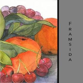 Akvarellkort - Frukt