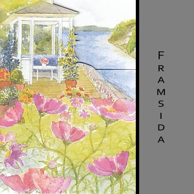 Akvarellkort - Lusthus