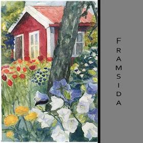 Akvarellkort - Trädgård