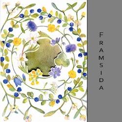 Akvarellkort - Årstidsringar