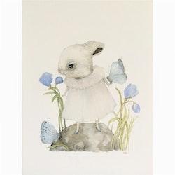Poster Blue Rabbit