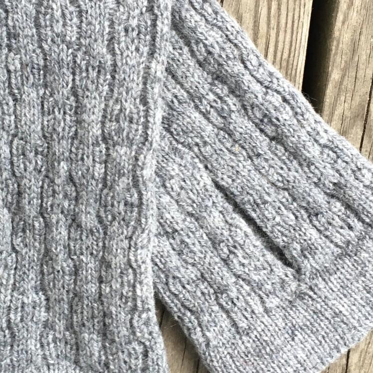 Handledsvärmare Tukk grå