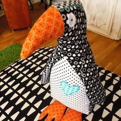 Pingvin stor turkos hjärta
