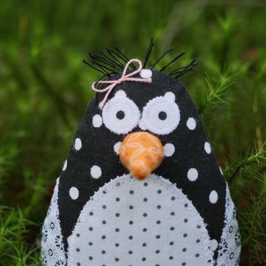 Pingvin liten rosett