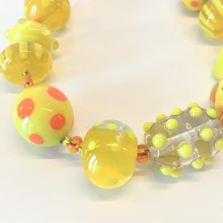 Armband gult