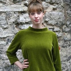 Velourtröja - grön