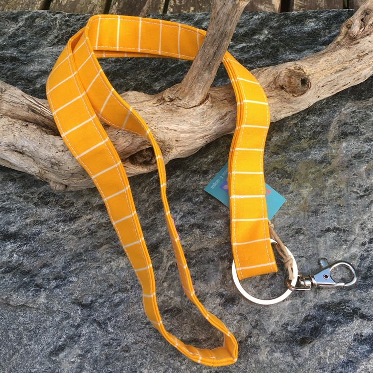Nyckelband gult