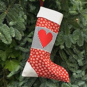Julstrumpa hjärta