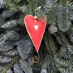 Hjärta rött