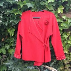 Kofta Kimono röd