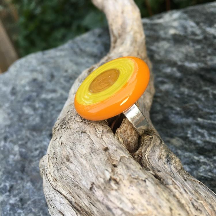 Halsband orange