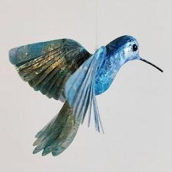 Kolibri blå/silver