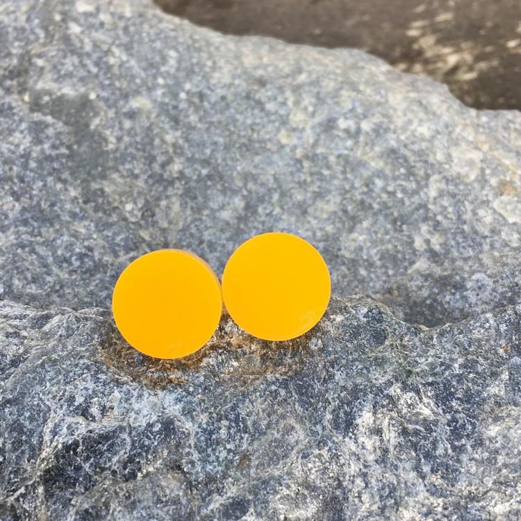 Örhängen gul