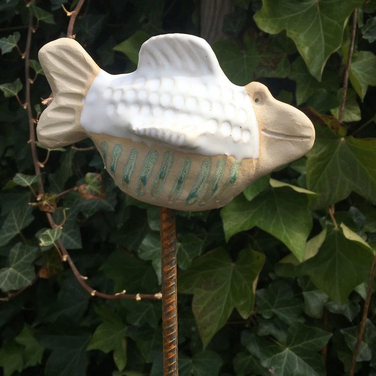 Fisk till trädgården
