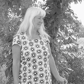 Klänning Linnetwill - lila