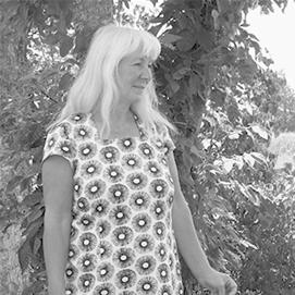 Klänning Velour - plommon