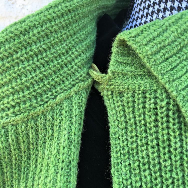 Kofta Patent ärtgrön