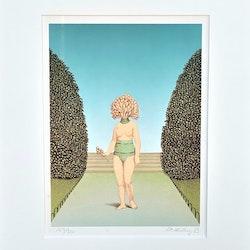 Ole Ahlberg - surrealistisk komposition