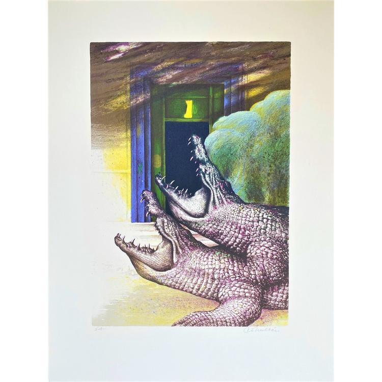 C O Hultén - krokodil