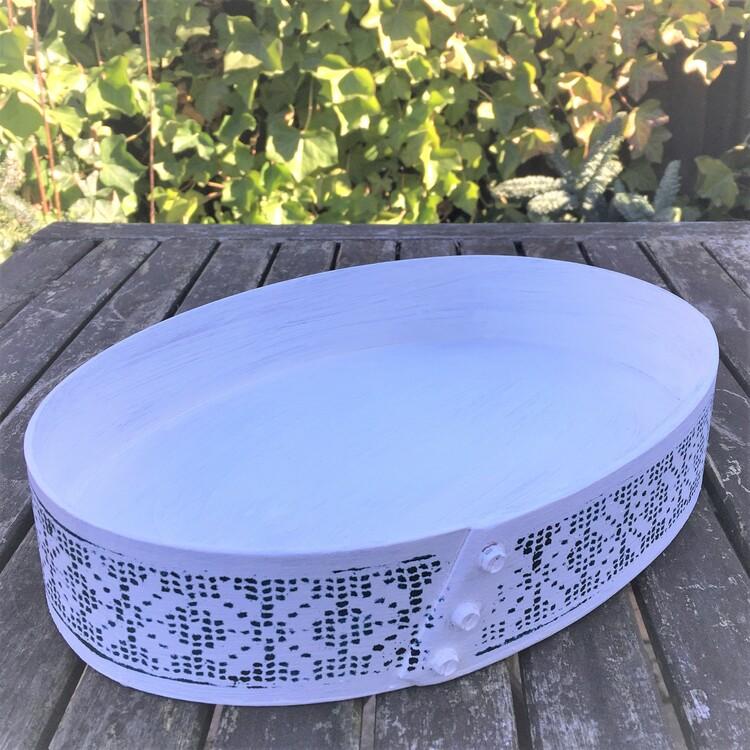 Svepask vit/blå