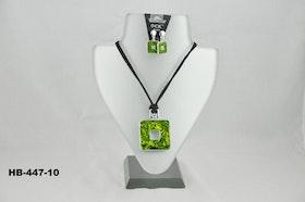Halsband, mycket vacker med tillhörande örhänge