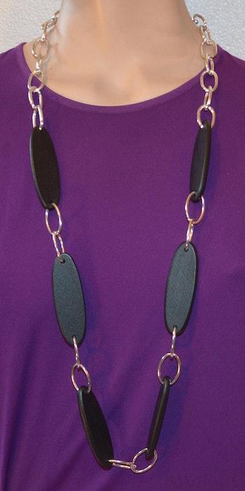 Halsband svart lätt att bära