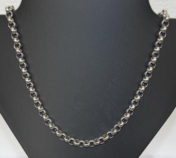 Herrsmycke Grövre Halsband Silverfärg