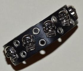Armband som passar båda, läderlook