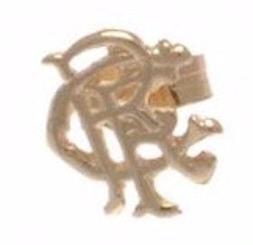Rangers F.C.örhänge, 9 k guld, officiell produkt