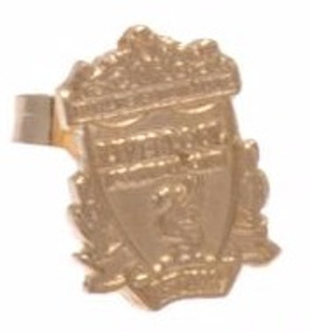 Liverpool F.C.örhänge, 9 k guld, officiell produkt