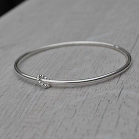 DesignLenaW, SIMPLE, armring i 925 sterlingsilver