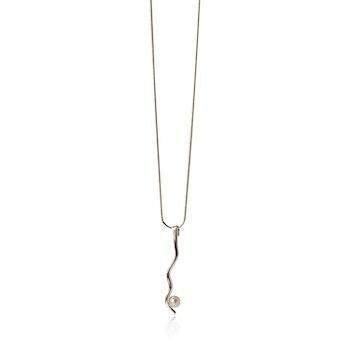 DesignLenaW, MOVEMENT halsband i 925 sterlingsilver