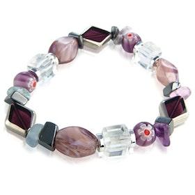 Lila Cristallo Carousel armband