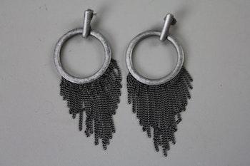 Handgjorda örhängen med fransar, Ettika design, California