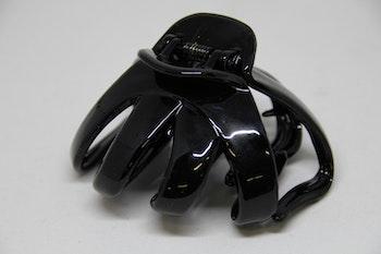 Hårklämma svart