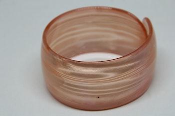 Armband, ljusrosa, one size