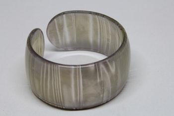 Armband, ljusgrå, one size