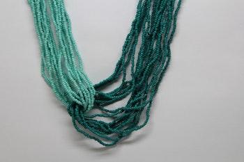 Halsband grön/ljusgrön färg