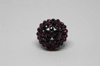Ring rosa/lila glittrig