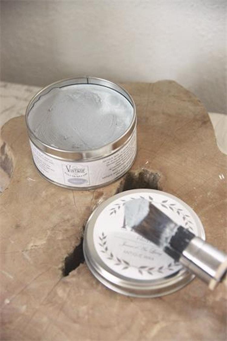 Möbelvax ljusgrå Vintage Paint, 300ml