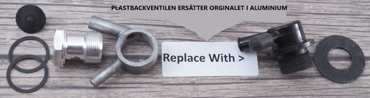 Backventil Midland 10 Screw