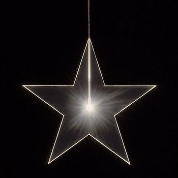 Stjärna Klar ø33cm, 1cm tjock